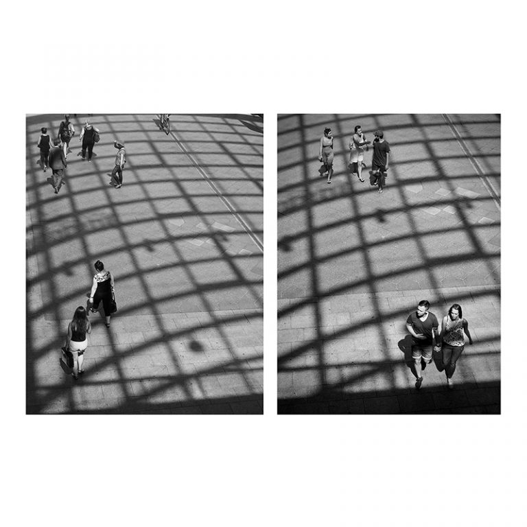 Grid Diptych