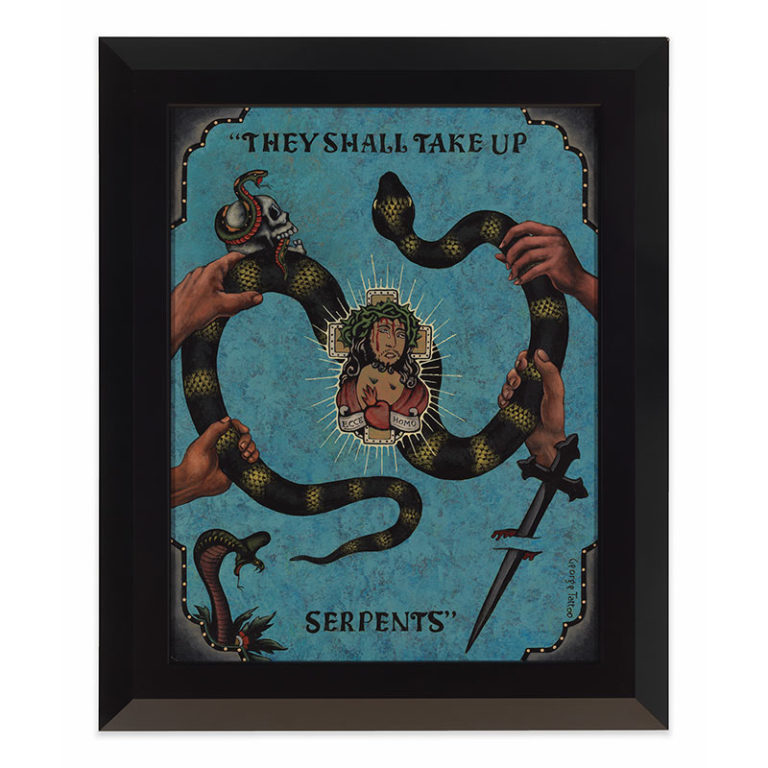 They Shall Take Up Serpents