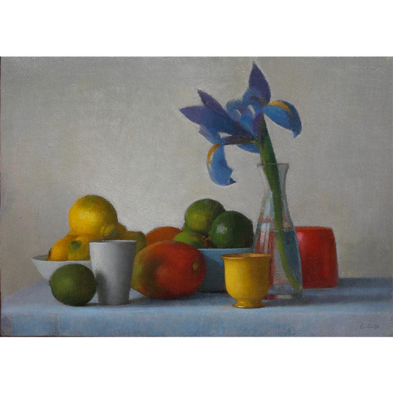 Violet Orchid w/ Fruit #1725