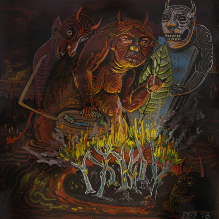 Artist in Hell Series: From Memory II