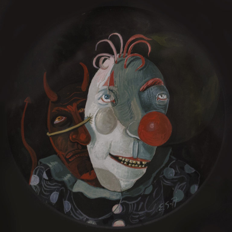 The Clown with the Devil