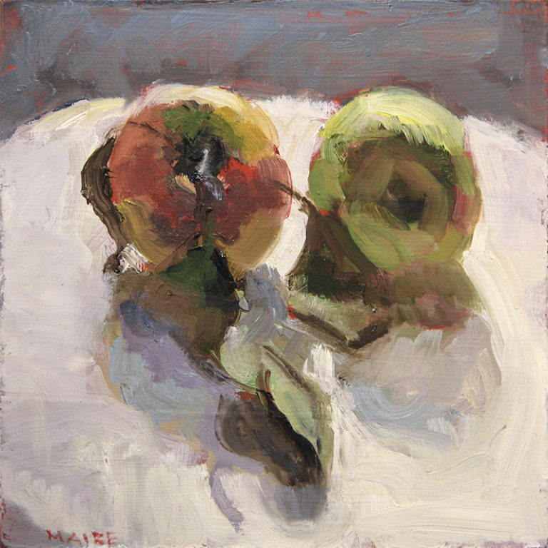 Catherine Maize: Two Apples