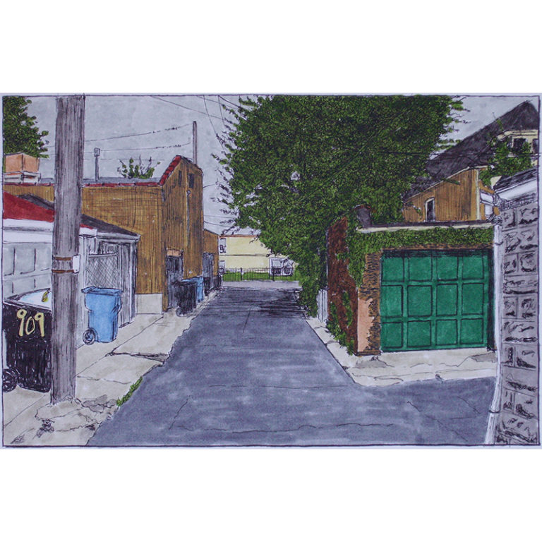 Alley with 909