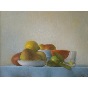 Fruit w/ Glass #1733