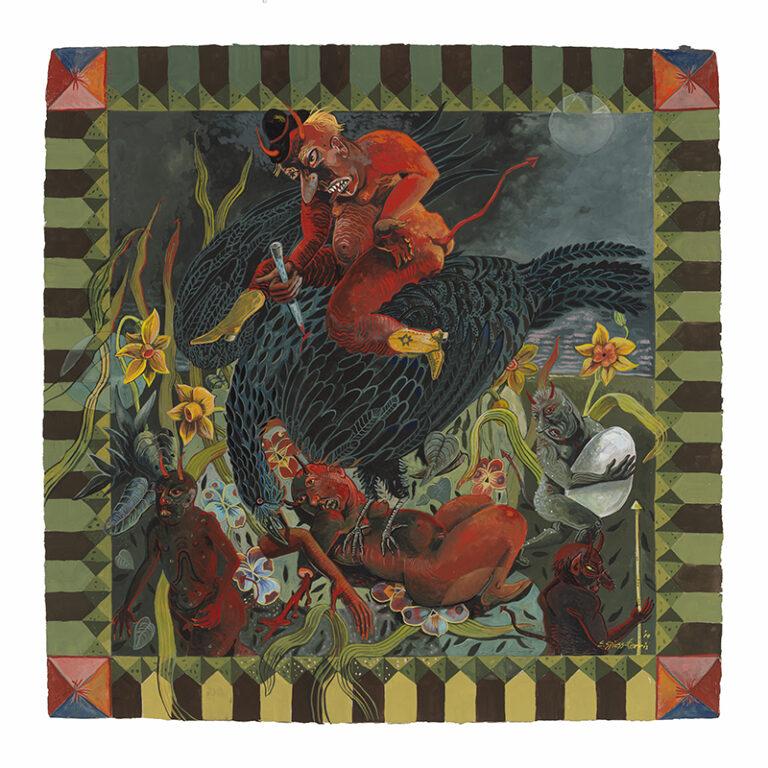 Devil Riding Black Bird