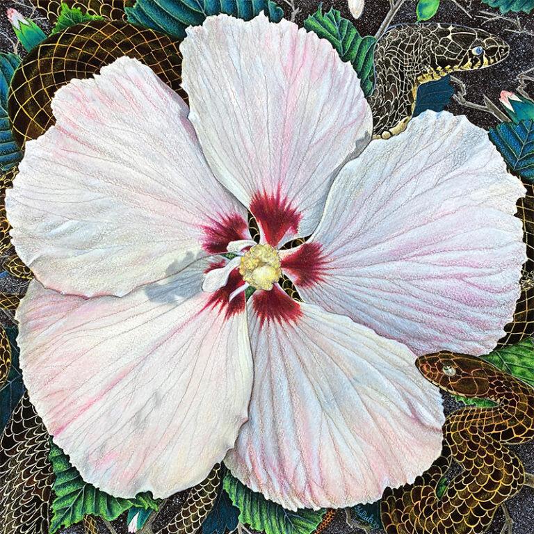 Flower Serpent Composition #6