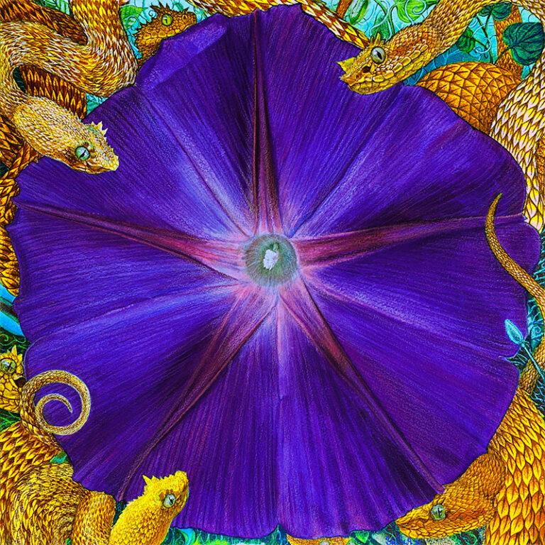 Flower Serpent Composition #7