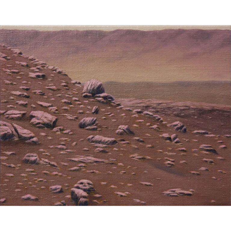 Mars Opportunity Rover, Murray Buttes region, Italian Pink