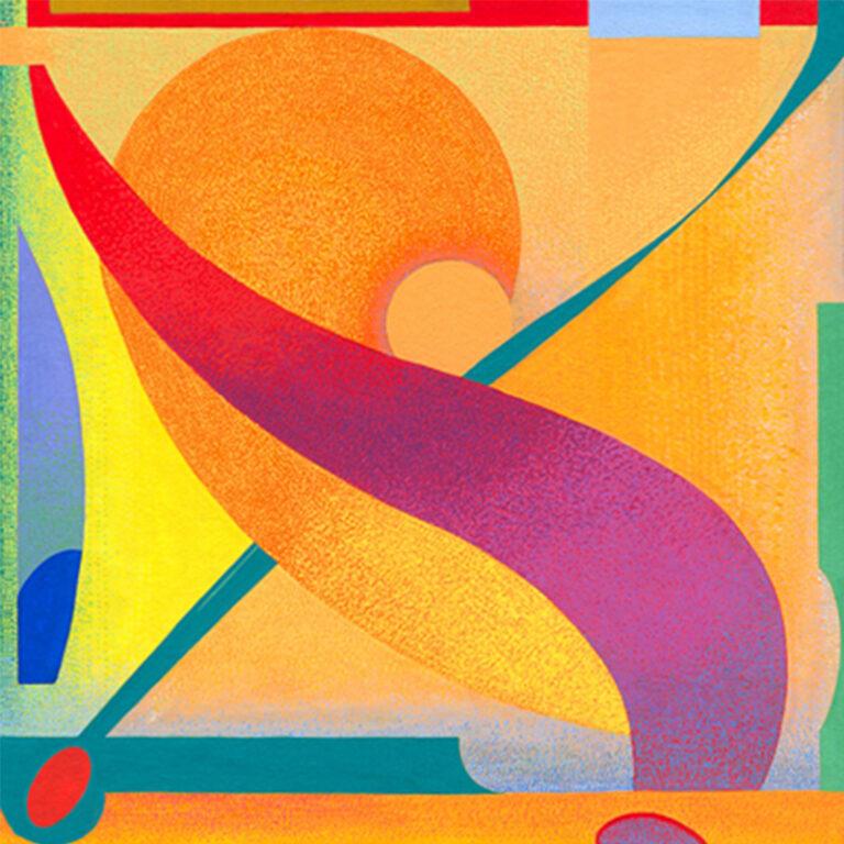Composition 75 (revelatory radiance)