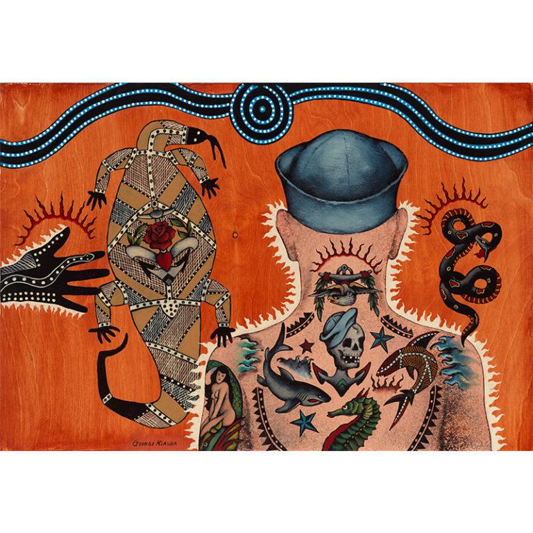 Sand Sailor in a Tribal Dream